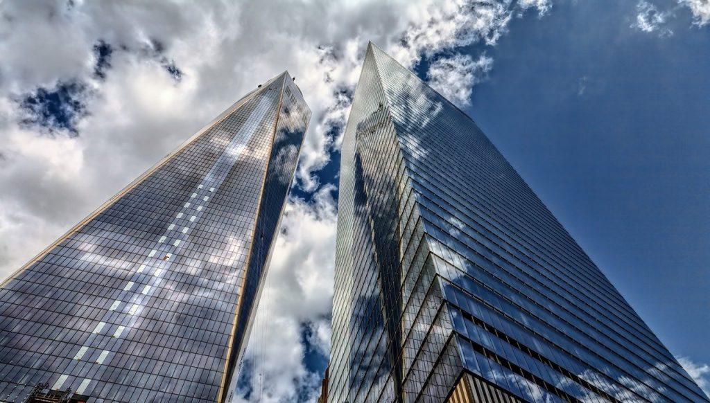 skyscraper, architecture, city