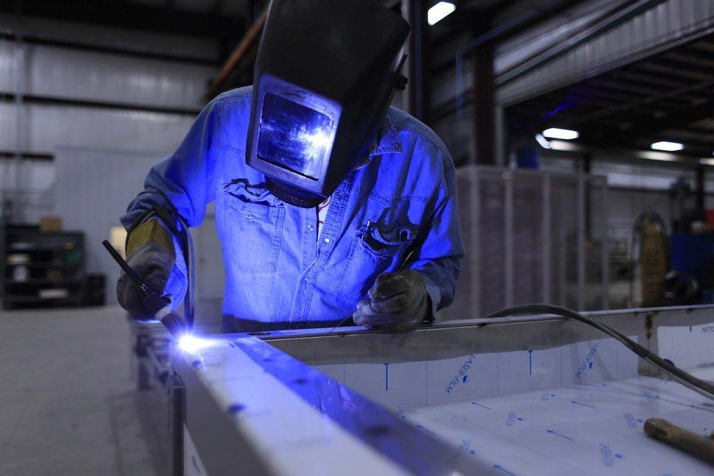welder, welding, industry